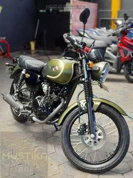 Kawasaki W175 Retro PMK 2019 Odo 4rb Jarang pakai ,Zaky Mustika