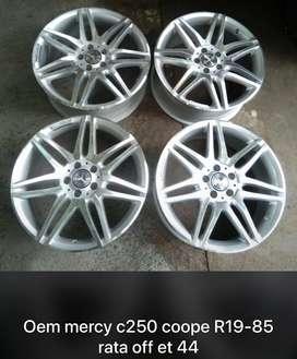 Velg AMG Mercy C250 r19 pcd 5x112 lbr 8,5