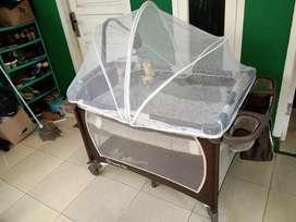 Edisi lockdown tempat tidur bayi