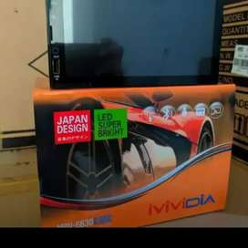 Tv mp 5 semi android full glass Vividia bisa remote stiur ( Megah top