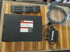 Airtel HD DTH Set Top box with Dish Antenna