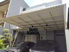 Kanopi Sidoarjo bergaransi, tanpa DP, tanpa antri, Rooftop Spandek dll