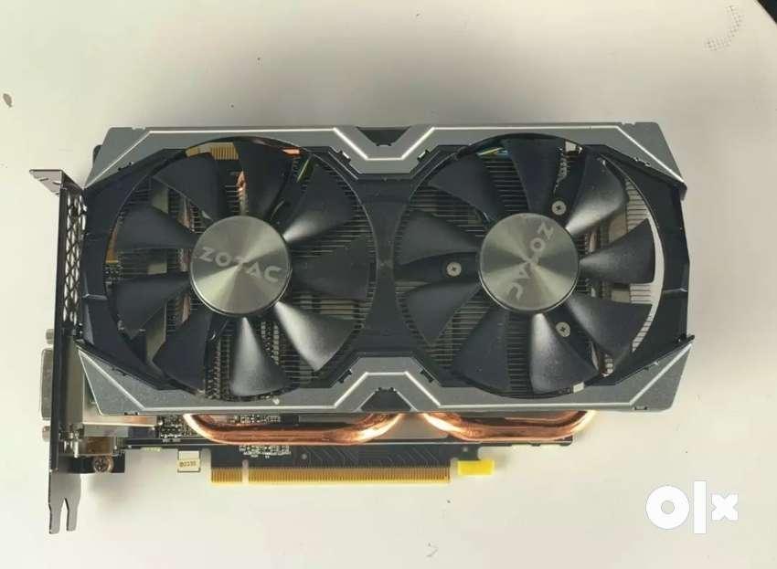 Zotac Genforce GTX 1070 8GB DDR5 Graphic card 0