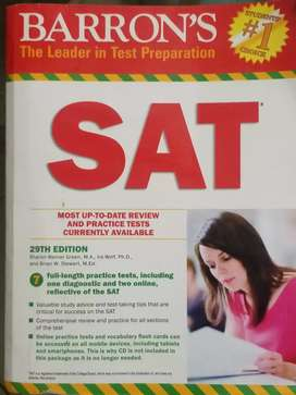 Barron's Sat book latest edition