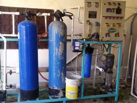 2000 liter RO WATER PLANT with 5 Ton Chiller
