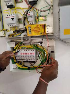 Electrician and data work