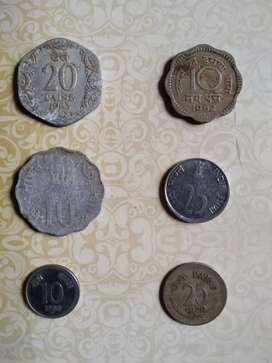Old coins total 6 coins