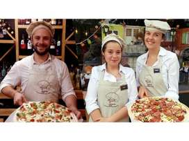 Pizza + fast food cook & bar Man Required