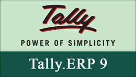Tally ERP 9 Fresh Instalation service training & customization