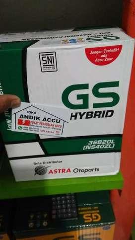 JUAL AKI MOBIL XPANDER GS HYBRID ASTRA OTOPARTS NS40ZL HARGA TT
