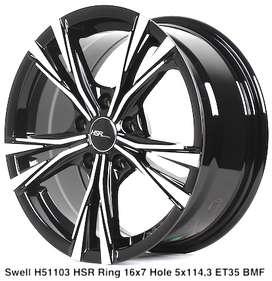 velg new SWELL 51103 HSR R16X7 H5X114,3 ET35 BMF