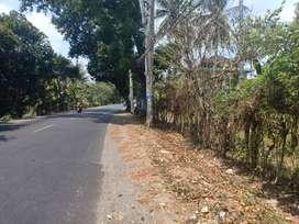 Tanah pinggir jalan Kediri