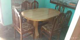 Deewan dining table of poure sheesam wood