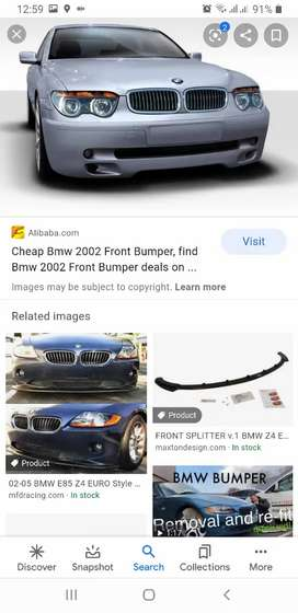 Bmw 2002-2008 front bumper brand new original for sale