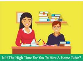 Home tutor available for students