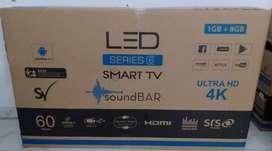 "52"" Smart 4K UHD Soundbar LED With 1 Year Warranty"