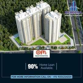 Pareena Om Apartments - 2BHK Apartments Dwarka Expresssway, Gurgaon