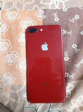 IPHONE 8PLUS (RED ADDITION) A ONE CONDITION
