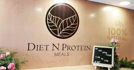Healthy Food Chef for Diet n Protein Meals Cafe
