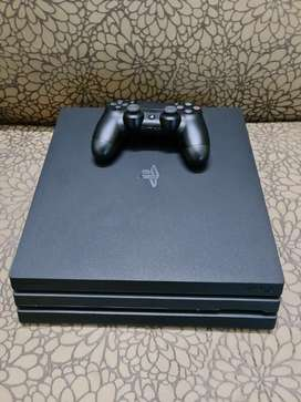 PS4 PRO 2 TB ( One year old) With One V2 Controller WITH BOX & BILL
