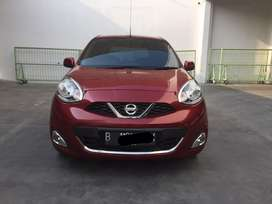 Nissan march 1.5 At 2015 Merah