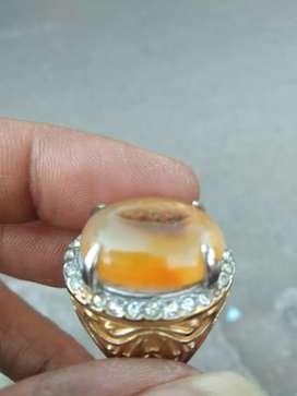 cincin batu akik combong