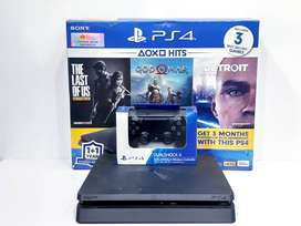 PS 4 Slim original FW terbaru HDD 1 TB FULL game digital Fulset