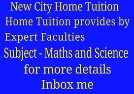 Expert Home Tutor for Maths and Science