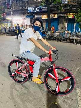 Imported 21 gear foldable cycle brand new