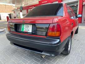 Suzuki Margalla In Lush Condition. 1995. Red Colour