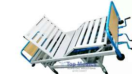 Patient Bed and hospital beds Electric and Manual modes Bed & wheel
