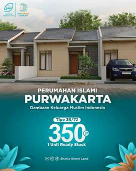 Rumah ready stock harga terjangkau, SHM lokasi Purwakarta