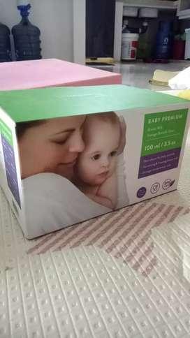 Bundling pigeon feeding set dan botol asip kaca merk Baby Premium