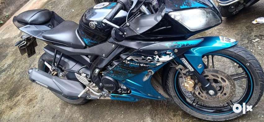 Yamaha R15 V2 Special Edition Blue 2016 For Just Rs.83500/- EMI AVAILA 0