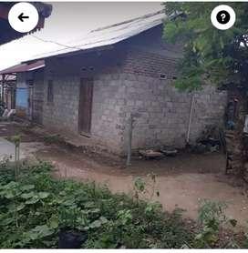 Jual cepat Rumah sederhana di lingkungan pasar hanura 65jt