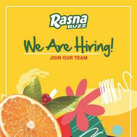 Required Team Member for Cafe/Restaurant Rasna Buzz