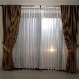 Wallpaper Curtain Korden Vitrase Hordeng Gorden Gordyn Blinds gt-19