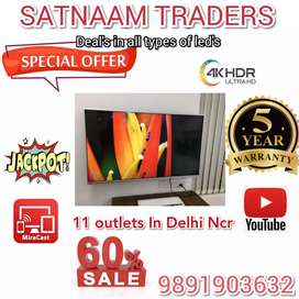 """LED Tv 42"""" 32"""" INCHES SMART LED 4K _ Android"""