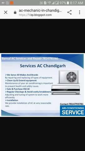AC Services Gas Filling Phase 2 Mohali