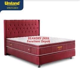 SEANDRY JAYA Furniture Depok/Springbed Uniland / gudho/central/elite/