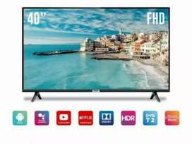 Android tv smart tcl 40ince new