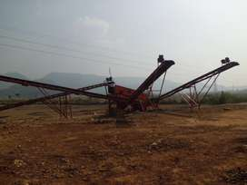 Conveyor Stone Crusher Plant
