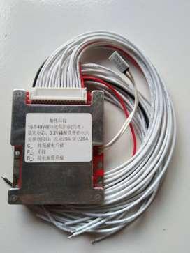 BMS atau pelindung baterai Lifepo4 16 s. 48 volt. 20 A.