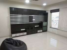 3BHK furnished flat for rent in Bavdhan for family