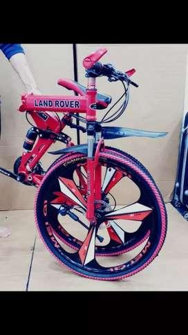 BRAND NEW  LAND ROVER BMW FERRARI FOLDABLE CYCLE