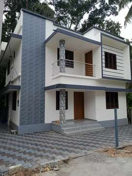 New build ready to occupy 3 bhk 1300 sqft at varapuzha paravur road