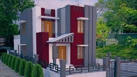 2 budget customized villas in kazhakootam Menamkulam.