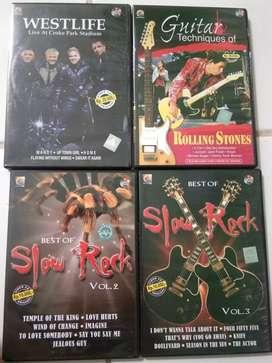 DVD disc Lagu Barat. 4 unit dgn 5 disc.