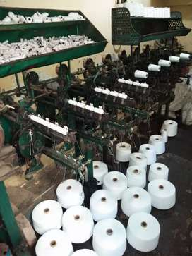 thread winding machine stitching reals