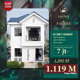 Rumah Mewah di kawasan Elit Tangerang Lavon 2 Rumah 3 Lantai MANTUL